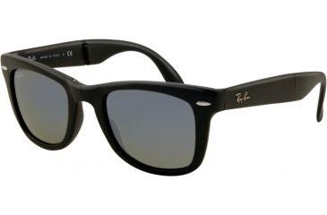 Ray-Ban Folding Wayfarer Prescription Sunglasses RB4105 RB4105-601S68-5022 - Lens Diameter 50 mm, Frame Color Matte Black