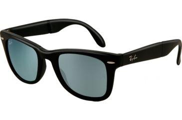 Ray-Ban Folding Wayfarer Prescription Sunglasses RB4105 RB4105-602230-5022 - Lens Diameter 50 mm, Frame Color Matte Grey