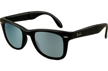 Ray-Ban Folding Wayfarer Prescription Sunglasses RB4105 RB4105-602230-5420 - Lens Diameter 54 mm, Frame Color Matte Grey