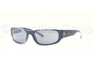 Ray-Ban Junior RJ 9034S Sunglasses Styles - Dark Blue Transparent Blue Silver Gradient Frame, 128-7C-4915