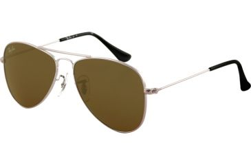 Ray-Ban Junior RJ 9506S Sunglasses Styles - Gunmetal Frame / Green Lenses, 200-71-5013