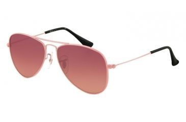 Ray-Ban Junior RJ 9506S Sunglasses Styles - Pink Frame / Pink Mirror Silver Gradient Lenses, 211-7E-5013