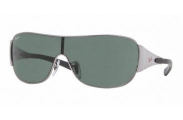637a8cd2dc9dc Ray-Ban Junior RJ 9517S Sunglasses Styles - Gunmetal Green Frame   115 mm  Diameter