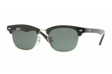 Ray Ban Junior RJ9050S #100/71 - Black Frame, Green Lenses