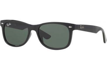 4b77a8e8fc Ray-Ban Junior RJ9052S Sunglasses 100 71-4715 - Black Green