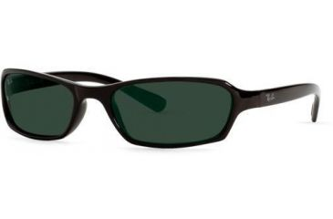 Ray-Ban Junior RJ9021S-100-71-5417 Sunglasses with No Line Progressive Rx Prescription Lenses 54 mm Lense Diameter / Black Frame w/ Gray Green Lenses