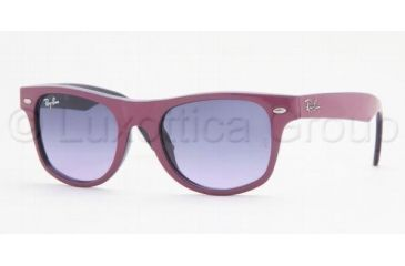 Ray-Ban Junior Sunglasses RJ9035S for Kids 147/90-4417 - Fuchsia Top On Metallize Violet Gradient