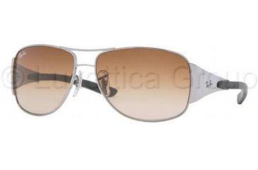 Ray-Ban Junior Sunglasses RJ9518S for Kids 200/13-5513 - Gunmetal Brown Gradient