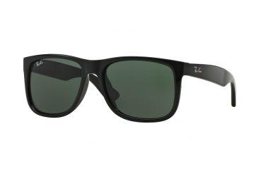 37ba04208cd Ray-Ban JUSTIN RB4165F Sunglasses 601 71-55 - Black Frame
