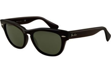 Ray-Ban LARAMIE RB4169 Single Vision Prescription Sunglasses RB4169-601-5318 - Lens Diameter 53 mm, Frame Color Black