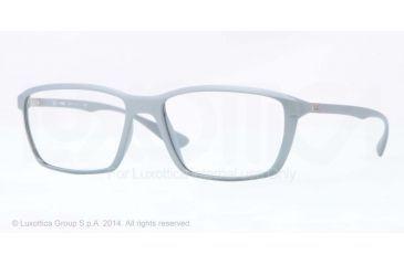Ray-Ban LITE FORCE RX7018 Eyeglass Frames 5251-55 - Opal Pearl Frame