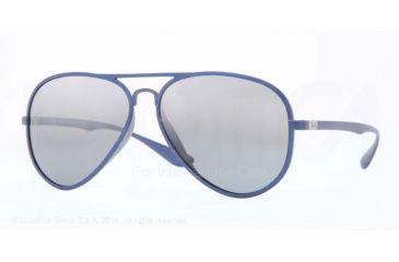 3d472c9a2d Ray-Ban LITEFORCE F RB4180F Sunglasses 601588-59 - Blue Frame