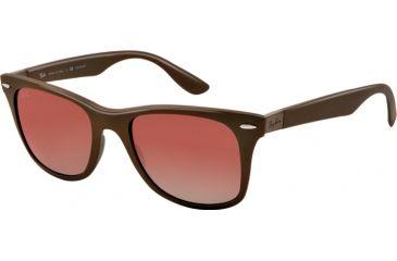 Ray-Ban LITEFORCE RB4195 Bifocal Prescription Sunglasses RB4195-603313-52 - Lens Diameter 52 mm, Lens Diameter 52 mm, Frame Color Brown