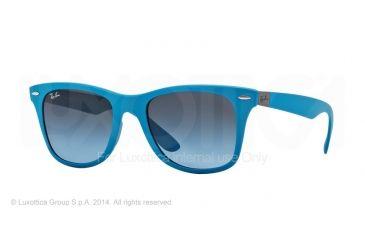 Ray-Ban LITEFORCE RB4195 Bifocal Prescription Sunglasses RB4195-60848F-52 - Lens Diameter 52 mm, Frame Color Metallic Azure