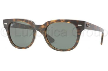 Ray-Ban METEOR RB4168 Bifocal Prescription Sunglasses RB4168-710-5020 - Lens Diameter 50 mm, Frame Color Shiny Havana