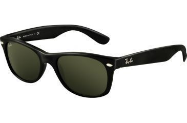 Ray-Ban RB2132 SV Prescription Sunglasses - Black Frame / 52 mm Prescription  Lenses,