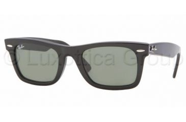 Ray-Ban RB 2151 Sunglasses Styles - Black Frame / Crystal Green Lenses, 901-5221