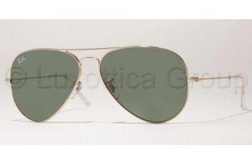 Ray Ban RB3025 Bifocal Sunglasses, Arista Frame / 55 mm Prescription Lenses, W3234 5514
