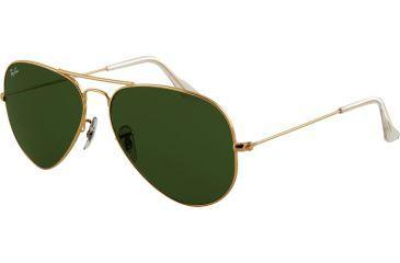 Ray Ban RB3025 SV Prescription Sunglasses, Arista Frame / 58 mm Prescription Lenses, L0205 5814