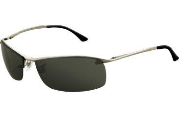 Ray-Ban RB 3183 Sunglasses, Gunmetal Frame / Green Lenses, 004-71-6315