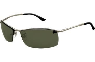Ray-Ban RB 3183 Sunglasses, Gunmetal Frame / Polarized Green Lenses, 004-9A-6315