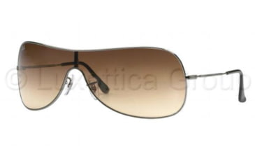 Ray-Ban RB 3211 Sunglasses Styles - Gunmetal Brown Gradient Frame / 132 mm Diameter Lenses, 004-13-0132