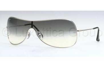 Ray-Ban RB 3211 Sunglasses Styles - Silver Gray Gradient Frame / 132 mm Diameter Lenses, 003-8G-0132
