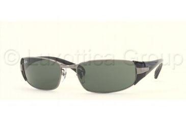 Ray-Ban RB 3261 Sunglasses Styles - Gunmetal Frame / Green Lenses, 004-71-5817