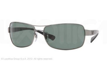 Ray-Ban Bifocal Sunglasses RB3379 with Lined Bi-Focal Rx Prescription Lenses RB3379-004-58-64 - Lens Diameter 64 mm, Lens Diameter 64 mm, Frame Color Gunmetal