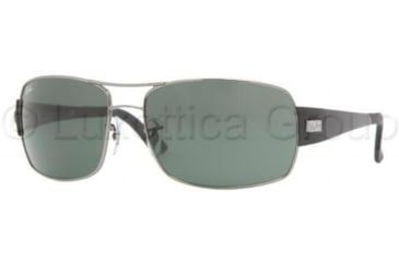 Ray-Ban RB3426 Sunglasses with No-Line Progressive Rx Prescription Lenses RB3426-004-71-6116 - Lens Diameter: 61 mm, Frame Color: Gunmetal