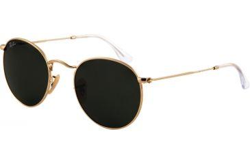 Ray-Ban RB 3447 Sunglasses - Arista Frame, Crystal Green 50mm Lenses, 001-5021