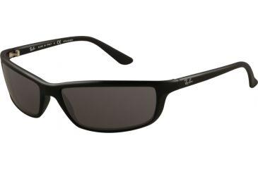 Ray-Ban RB4034 Progressive Prescription Sunglasses RB4034-601S81-6116 - Lens Diameter: 61 mm, Frame Color: Matte Black
