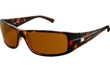 Ray-Ban RB4057 Bifocal Sunglasses - Havana Frame / 61 mm Prescription Lenses, 642-6116