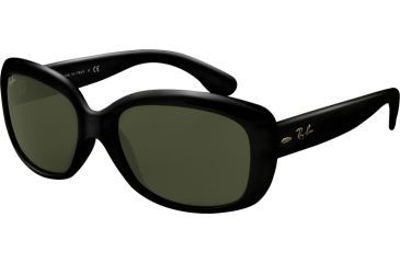 5268c1d41e Ray-Ban RB 4101 Sunglasses Styles - Black Frame   Crystal Green Lenses