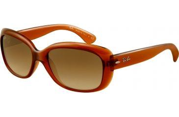 Ray-Ban RB4101 Progressive Sunglasses - Light Brown Frame / 58 mm Prescription Lenses, 717-51-5817