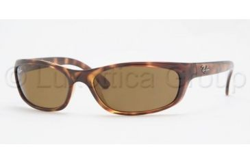 Ray-Ban RB4115 SV Prescription Sunglasses - Havana Frame / 57 mm Prescription Lenses, 642-73-5716