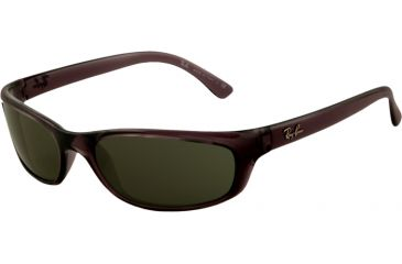 8db323c458 Ray-Ban RB4115 Bifocal Sunglasses - Smokey Black Frame   57 mm Prescription  Lenses
