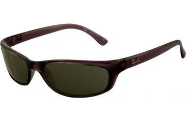 Ray-Ban RB4115 SV Prescription Sunglasses - Smokey Black Frame / 57 mm Prescription Lenses, 606-71-5716