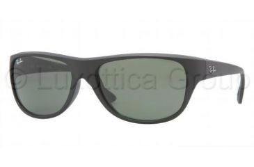 Ray-Ban RB4138 Single Vision Prescription Sunglasses RB4138-601S-5917 - Lens Diameter: 59 mm, Frame Color: Matte Black
