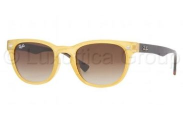 75450e7050 Ray-Ban RB 4140 Sunglasses Styles - Opal Yellow Frame   Crystal Brown  Gradient Lenses