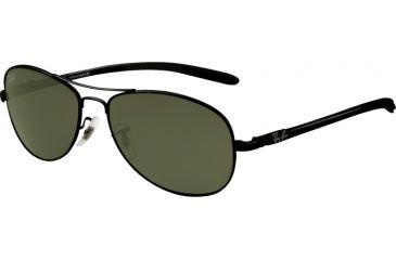 Ray-Ban RB8301 Progressive Sunglasses - Black Frame / 56 mm Prescription Lenses, 002-5614