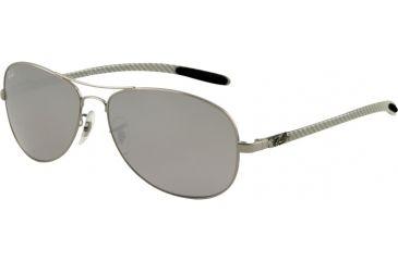 Ray-Ban RB 8301 Sunglasses Styles - Gunmetal Frame, Crystal Mirror Silver-Black 59 mm Lenses, 004-40-5914