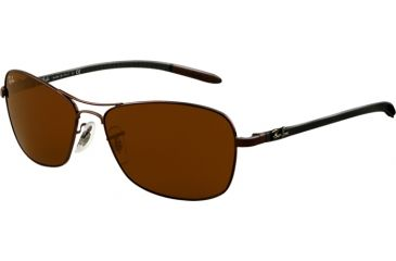 4223f2c435 Ray-Ban RB8302 Progressive Sunglasses - Brown Frame   58 mm Prescription  Lenses
