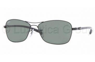 Ray-Ban RB8302 Progressive Sunglasses - Black Frame / 58 mm Prescription Lenses, 002-5815