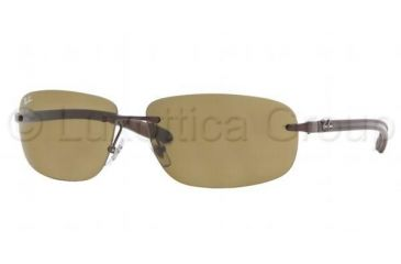 2b78bfad6a Ray-Ban RB 8303 Sunglasses Styles - Brown Frame   Brown Lenses