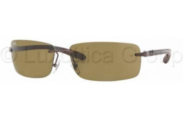 Ray-Ban RB 8304 Sunglasses Styles - Brown Frame / Brown Lenses, 014-73-6114