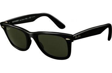 Ray-Ban RB2140F Bifocal Prescription Sunglasses RB2140F-901-52 - Lens Diameter 52 mm, Lens Diameter 52 mm, Frame Color Black