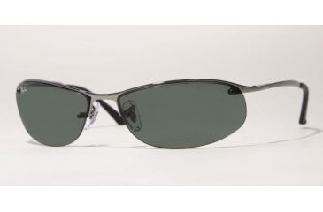Ray Ban RB3179 #004/71 - Gunmetal Frame, Green Lenses