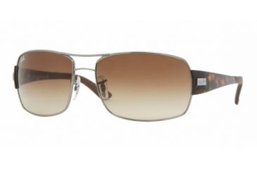 Ray Ban RB3426 #004/13 - Gunmetal Frame, Brown Gradient Lenses