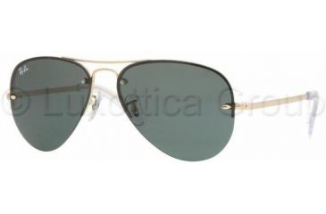Ray-Ban RB3449 Sunglasses 001/71-5914 - Arista Green